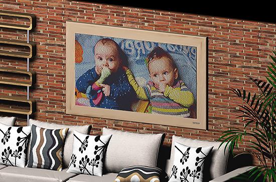 2 babies art